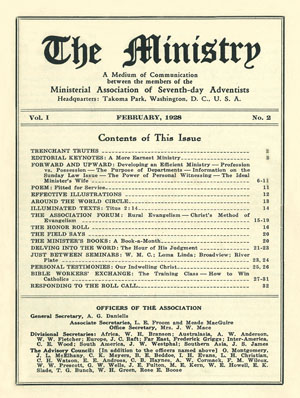 February 1928 cover image