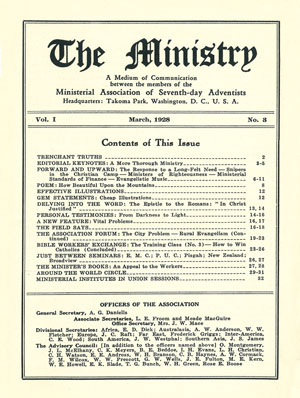 March 1928 cover image