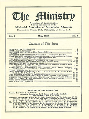 May 1928 cover image