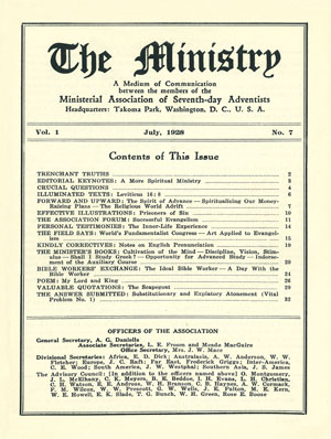 July 1928 cover image