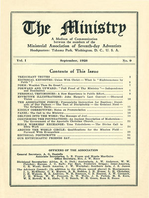 September 1928 cover image