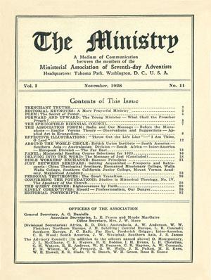 November 1928 cover image
