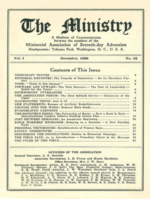 December 1928 cover image