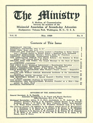 May 1929 cover image