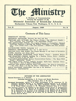 August 1929 cover image