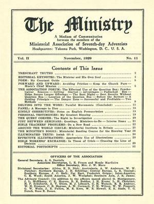 November 1929 cover image