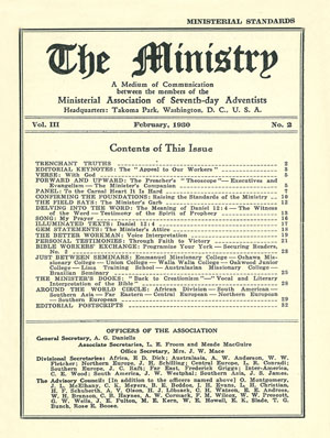 February 1930 cover image