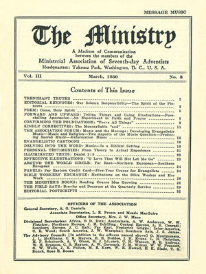 March 1930 cover image