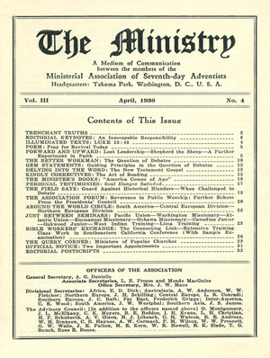 April 1930 cover image