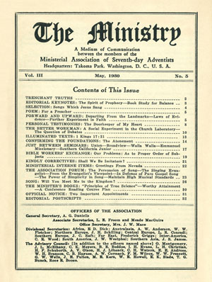 May 1930 cover image