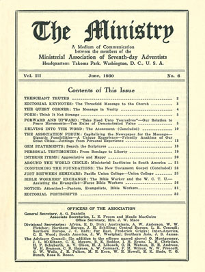 June 1930 cover image