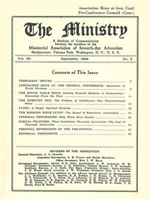 September 1930 cover image