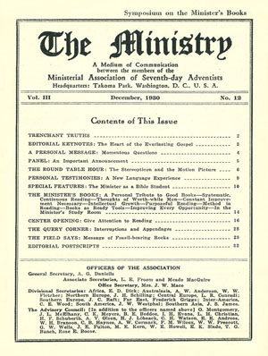 December 1930 cover image