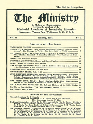 January 1931 cover image