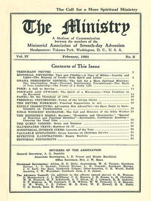 February 1931 cover image