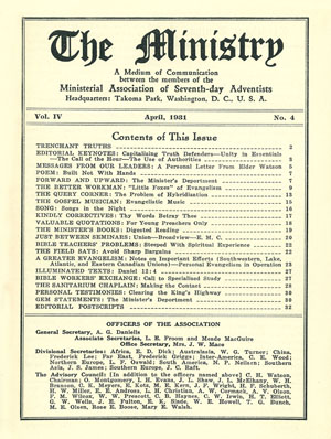 April 1931 cover image