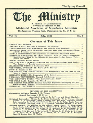 July 1931 cover image