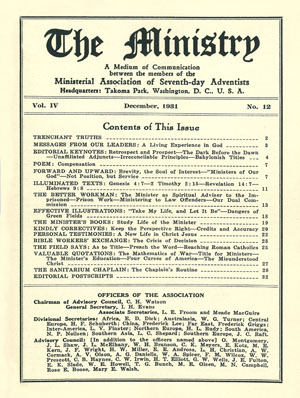 December 1931 cover image