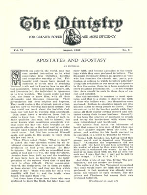 August 1933 cover image