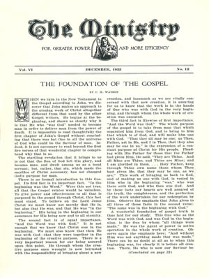 December 1933 cover image