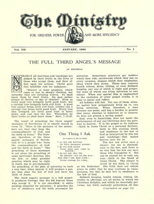 January 1934 cover image