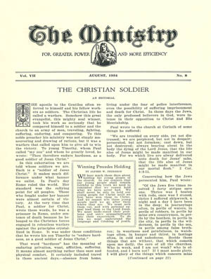 August 1934 cover image