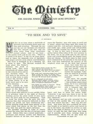 November 1935 cover image