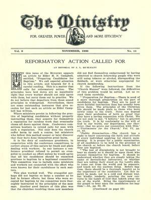 November 1936 cover image