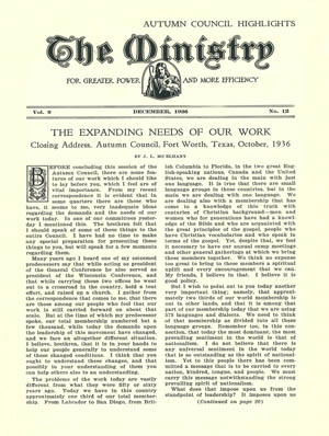 December 1936 cover image