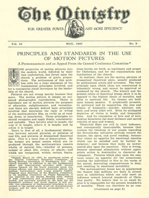 May 1937 cover image
