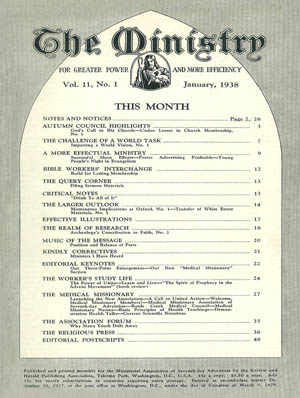 January 1938 cover image