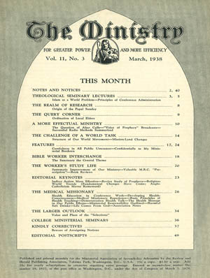 March 1938 cover image