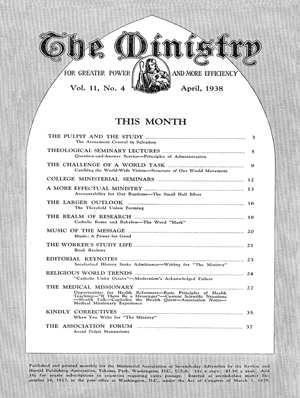 April 1938 cover image