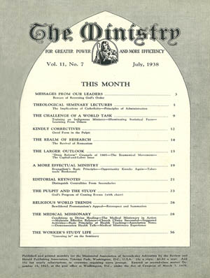 July 1938 cover image