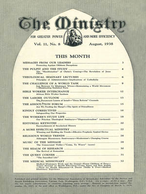 August 1938 cover image