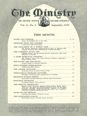 September 1938 cover image