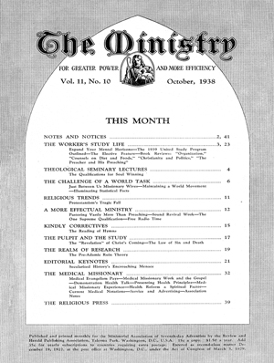 October 1938 cover image