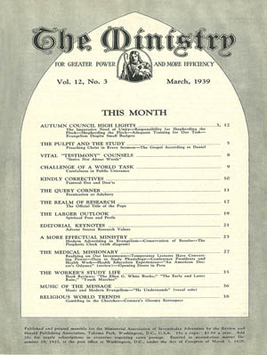 March 1939 cover image