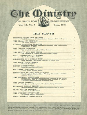 May 1939 cover image