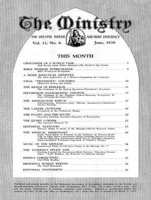 June 1939 cover image