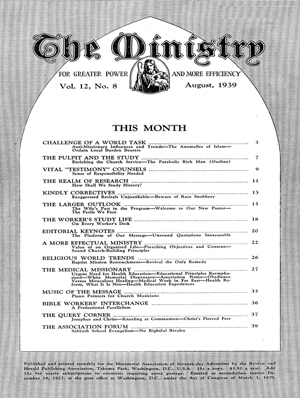 August 1939 cover image