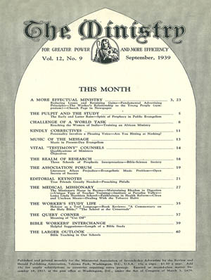 September 1939 cover image