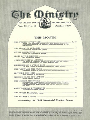 October 1939 cover image