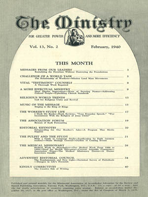 February 1940 cover image