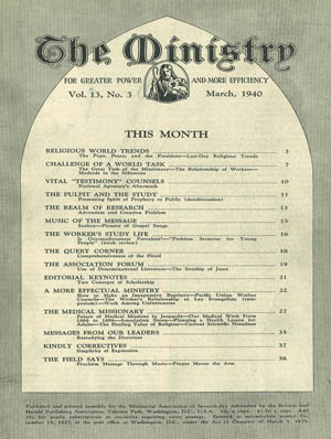 March 1940 cover image