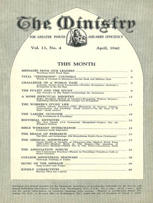 April 1940 cover image