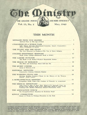 May 1940 cover image