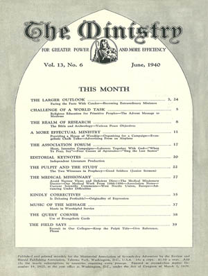 June 1940 cover image