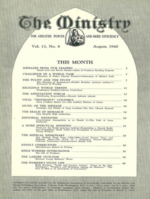 August 1940 cover image