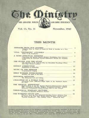 November 1940 cover image